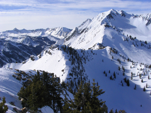 The Wasatch Mountains. Photo by Jared Hargrave