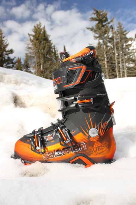 Salomon Quest 12 high performance all-mountain ski boot