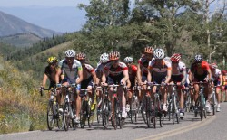 Tour of Utah cyclists competing in 2009. Photo: Dave Ilitis