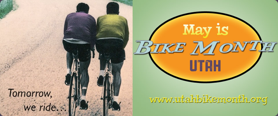 May is Bike Month in Utah