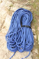 The Mammut Tusk 9.8 climbing rope
