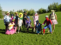 Riders all dressed up for the Tour Des Suds. Image courtesy Singletrack Treks.