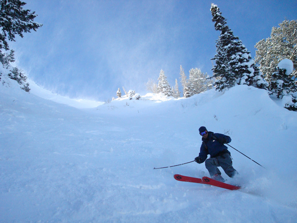 In a few weeks, we will be doing this. Skier: Daniel Kovach at Deer Valley.