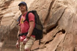 "James Franco gives an excellent performance in ""127 Hours"""