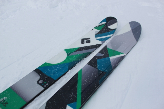 The new Black Diamond Warant skis replace the old Kilowatt