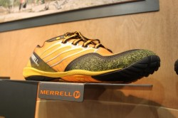 Merrell's Barefoot Collection, like the Trail Glove.
