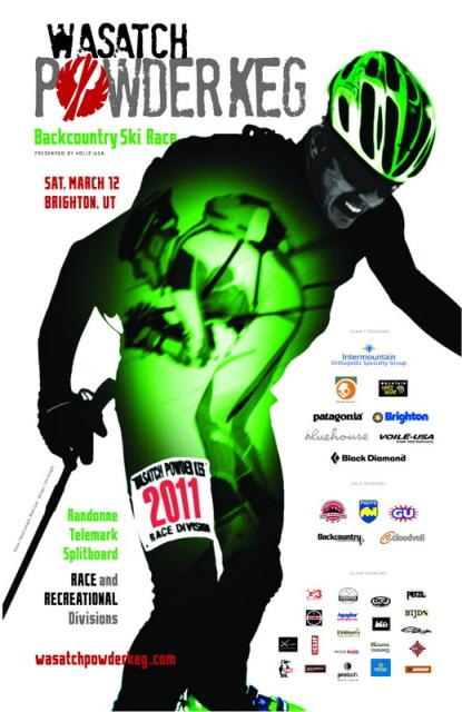 Poster for the 2011 Wasatch Powder Keg