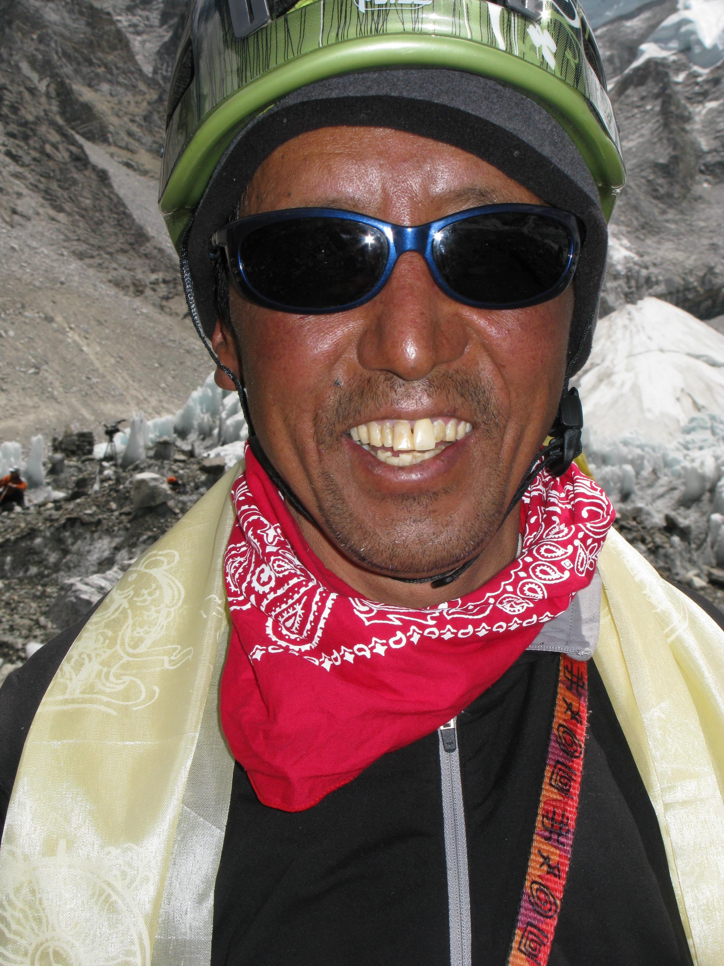 Apa Sherpa, the world record holder for 21 summits of Mount Everest.
