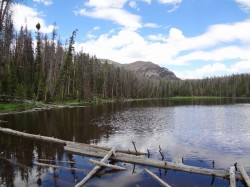 Packard Lake in the Uinta Mountains