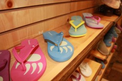 Bearpaw is coming out with a line of light weight shoes and flips flops