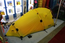 The Brooks Range Invasion Tent at 2011 Outdoor Retailer Summer Market.