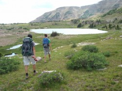 A hike in the upper basin is a must-do when backpacking into Naturalist Basin.
