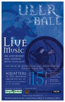 Ullr Ball 2011 at Squatters Pub to benefit Save Our Canyons.