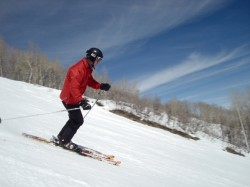 Get warmed up and your ski legs back under you before your first run of the day. (Photo: Jared Hargrave - UtahOutside.com)
