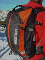 Salomon Quest 30 backcountry pack. (Photo: Mason Diedrich)