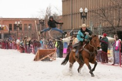Skijoring at the Ogden Wintefest. (courtesy image)