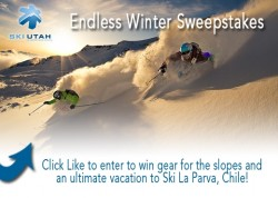 Ski Utah Yeti Endless Winter Sweepstakes. (Image: SkiUtah.com)