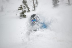 It was deep powder skiing at Brighton Resort on March 20th. (Photo: Chris Pearson - Ski Utah)