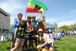 Revelers fill Washington Square in Salt Lake City for last year's Tour de Brewtah. (Photo: Richard Markosian - UtahStories.com)