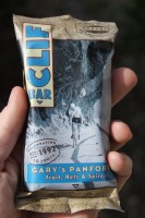 A closer look at the packaging of the new Gary's Panforte Clif Bar. (Photo: Jared Hargrave - UtahOutside.com)