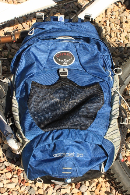 Osprey Escapist 30 mountain biking pack. (Photo: Jared Hargrave - UtahOutside.com)