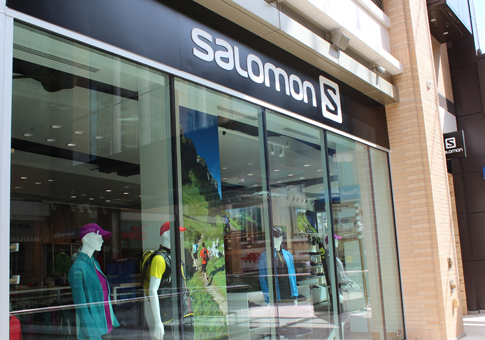 Salomon Store at City Creek Center in Salt Lake City, Utah. (Image courtesy Salomon USA)