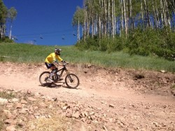 Berms, jumps and rollers are on the menu at the Canyons Bike Park. (Photo: Jared Hargrave - UtahOutside.com)