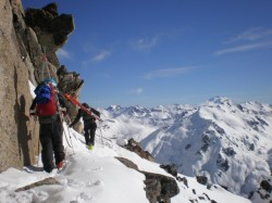 Epic views lead to epic skiing with Patagonia Ski Tours and Jans Mountain (Photo courtesy Patagonia Ski Tours)
