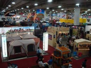 A look at the Salt Palace floor during the 2011 Summer Market. This is only a sliver of what can be seen during the show. (Photo: Jared Hargrave - UtahOutside.com)