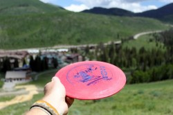 Playing a round of disc golf at Solitude is a great way to get up high and escape the valley heat. (Photo: Jared Hargrave - UtahOutside.com)