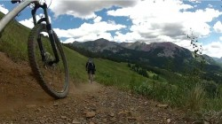 "Still frame from the video ""Colorado MTB Trip"" by Jared Anderton."