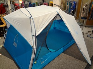 The Flash tents feature ExoFusion pole technology and an