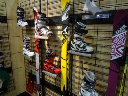 Movement Skis paired up with Garmont touring boots. (Photo: Ryan Malavolta - UtahOutside.com)