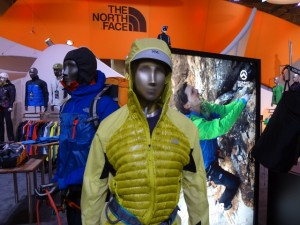 The North Face  Verto Micro Hoodie in yellow and the Verto Pro Jacket in