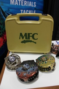 The Boat Box and MFC reels with artist designs. (Photo: Jared Hargrave - UtahOutside.com)