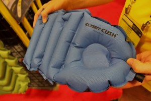 Camping pillow? Inflatable seat? How about both!? The Klymit Cush has your head and tush covered. (Photo: Jared Hargrave - UtahOutside.com)