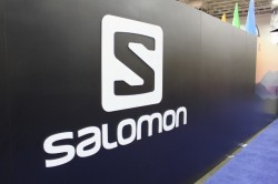 The new Salomon logo was unveiled at the 2012 Outdoor Retailer Summer Market.