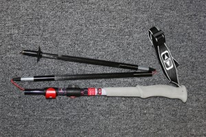 The Easton Compact Carbon 5 trekking pole is insanely light, yet bomber. (Photo: Jared Hargrave - UtahOutside.com)