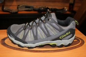 The Oboz men's Traverse Low hiking shoes. (Photo: Jared Hargrave - UtahOutside.com)