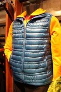 Patagonia Ultralight Down Vest at Outdoor Retailer Summer Market. (Photo: Jared Hargrave - UtahOutside.com)
