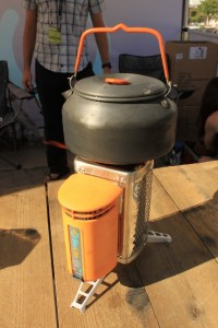 The BioLite Campstove can boil 1 liter of water in 5 minutes. (Photo: Jared Hargrave - UtahOutside.com)