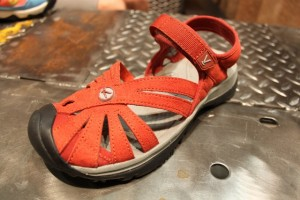 The Keen Rose Sandal for stylie women. (Photo: Jared Hargrave - UtahOutside.com)