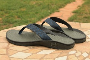 The new Chaco Fathom Flip from the NearGround Collection. (Photo: JaredHargrave- UtahOutside.com)