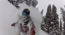 Still frame from the Salomon Freeski TV Season 6 Teaser. (Image: Salomon)