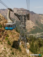 Snowbird's Tram on Hidden Peak, location of the Hidden Peak Challenge and Widow Maker hill climb. (Photo: Snowbird Ski and Summer Resort)