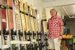 Mike Kilcheinstein, President of RAMP Sports, stands alongside his labor of love. (Photo: Jared Hargrave - UtahOutside.com)