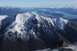 The Andes Mountains around Bariloche, Argentina. (Photo: Jared Hargrave - UtahOutside.com)
