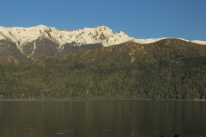 Catedral Norte, as seen from the highway south of Bariloche. (Photo: Jared Hargrave - UtahOutside.com)
