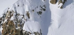 "Still frame from PowderWhore Production's new ski movie, ""Choose Your Own Adventure"" which is screening at Brewvies."