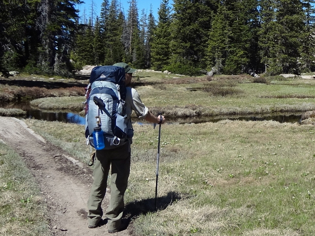 The UL-2 poles performed great on mountain backpacking trips. (Photo: Ryan Malavolta - UtahOutside.com)